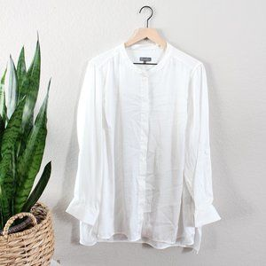 Vince Camuto Flowy Button Down
